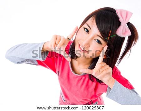 asia cute girl