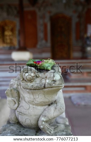 Asia Indonesia Bali Travel Temple Frog Landmark Exotic Places Holiday Relax Adventure Trip World Life Journey Different Destination Sculpture Religious   #776077213