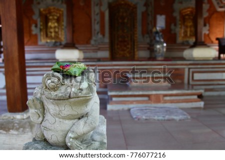 Asia Indonesia Bali Travel Temple Frog Landmark Exotic Places Holiday Relax Adventure Trip World Life Journey Different Destination Sculpture Religious   #776077216