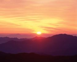 Asia Korea Scenic Mountain