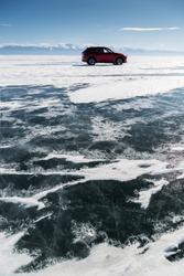 Asia, Russia, Siberia, Buryatia, Irkutsk Oblast, Lake Baikal - Mazda CX-5 II 2.5 SkyPassion AWD