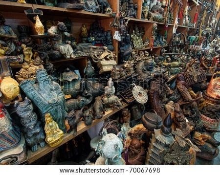 Asian antique shop