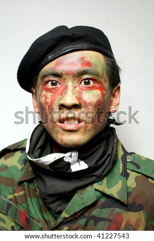Buy a ghillie suit and photos profimedia Going to colour theme on an image