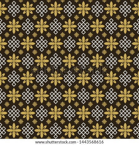 Asian background pattern. Retro pattern. Background image. Seamless wallpaper in Asian style