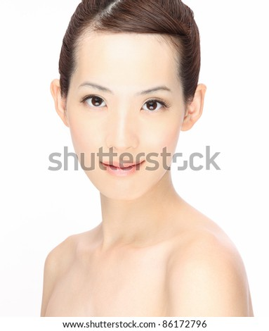 Asian beauty - stock photo