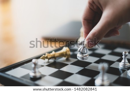 asian businessman control chess play plan and strategy business strategy manage ideas concept