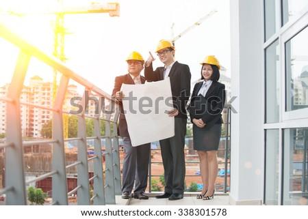 asian Construction personnel