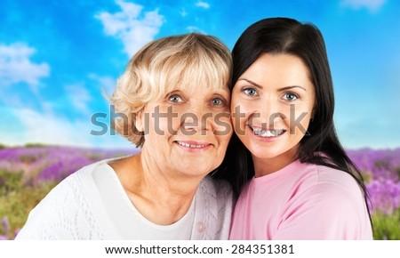 Asian Ethnicity, Senior Adult, Mother.