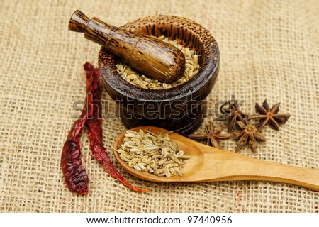 asian herb traditional recipe ingredient
