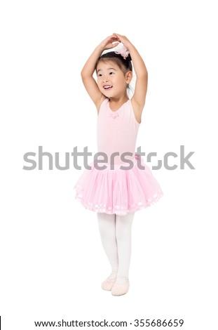 d9bb9258772d Asian little girl ballerina