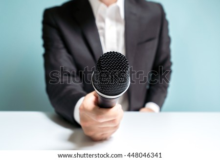 Asian man interviewing #448046341