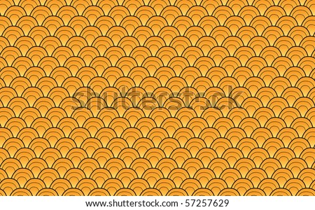 Asian pattern hand draw style