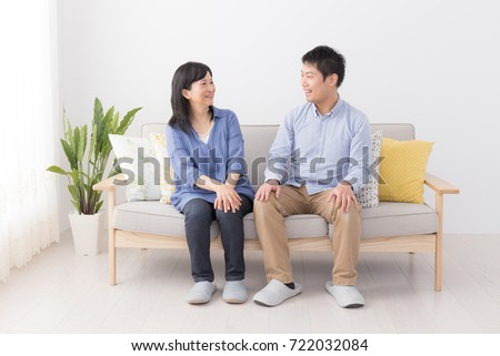 asian son and mother #722032084