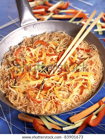Asian-style rice vermicellis