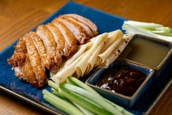 Asian Traditional Food Quarter Portion Duck