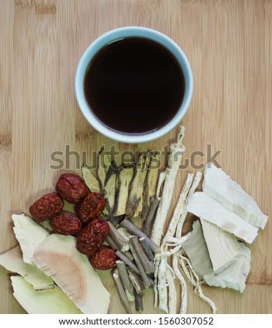 Asian traditional medicine herbal medicine, Chinese medicine