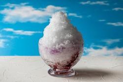 asian type of epidemic shaved ice