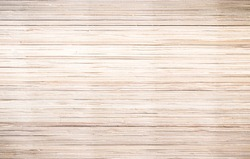 Asian wood pattern background concept: Vintage style, Straw mat texture wallpaper