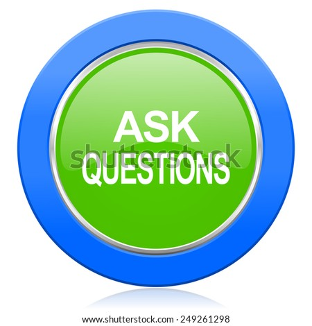 Ask Questions Icon Stock Photo 249261298 : Shutterstock