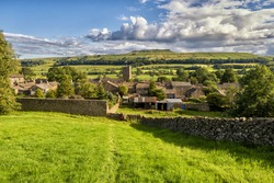 Askrigg is a small village and civil parish in Wensleydale in the Yorkshire Dales National Park. It is part of the Richmondshire district of North Yorkshire, England.