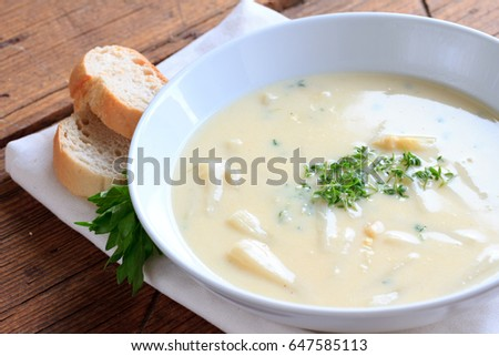 asparagus soup Stock photo ©