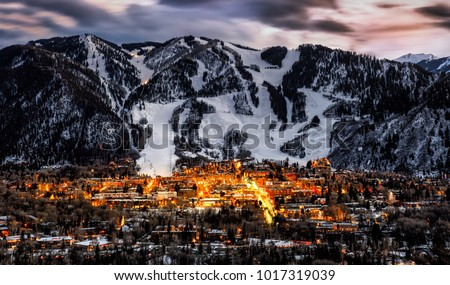 Photo of  Aspen City Skyline
