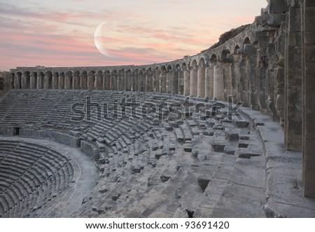 aspendos amphitheater  (Antalya Turkey)