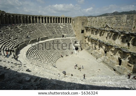 aspendos open theater in antalya