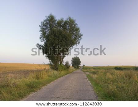 asphald village road
