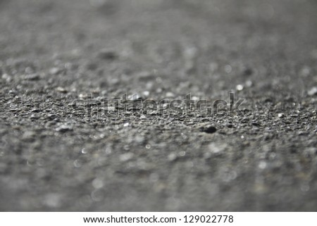 asphalt as abstract blur background