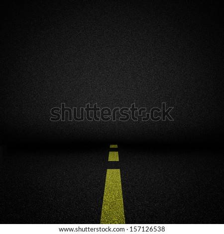 Asphalt concrete background with street as floor.