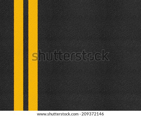 Asphalt highway road texture with markings background #209372146