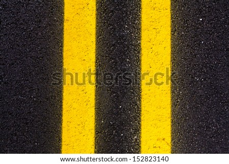 Asphalt Road Background or Texture  #152823140