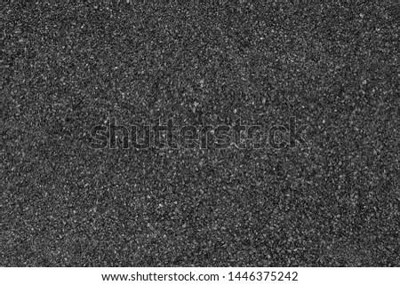 Asphalt road background with black color. #1446375242