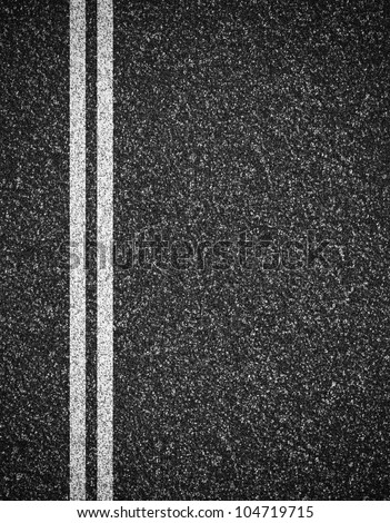 Asphalt Road Top View Background Stock Photo 104719715 ...