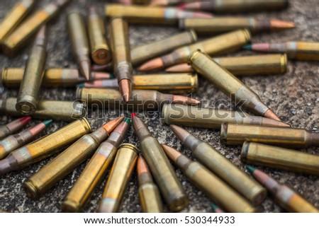 assault rifle bullet #530344933