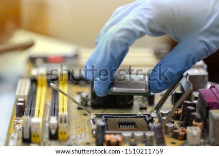 Assembling high performance personal computer. #1510211759