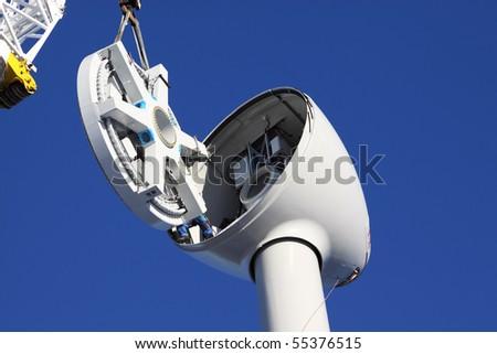 assembling turbine