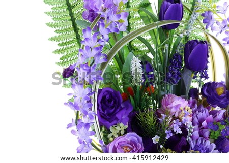 Free Photos Assorted Artificial Flower Bouquet In White Gold Vase In