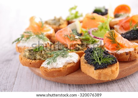 Shutterstock puzzlepix for Canape topping crossword