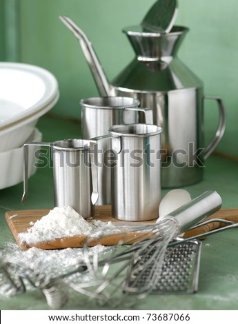 Assorted cooking utensils