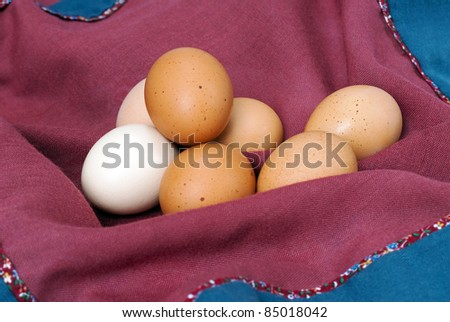 Assorted Country Eggs