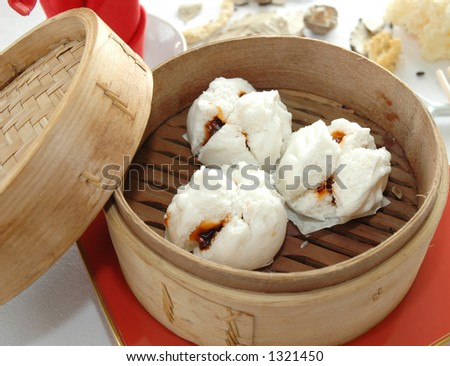 Assorted Dim Sum - stock photo