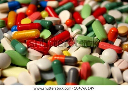 Assorted drugs