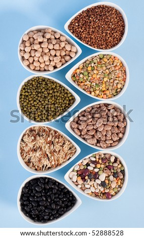 Assorted Dry Beans and Grains