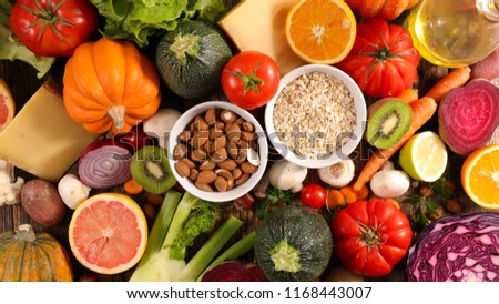 assorted healthy eating #1168443007