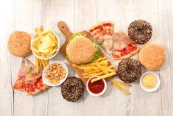 assorted junk food