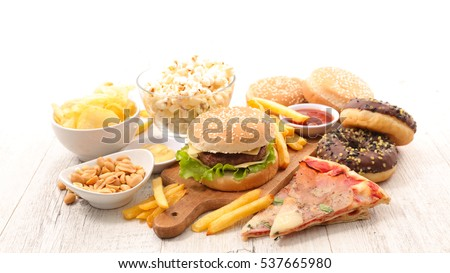 assorted junk food Stock photo ©