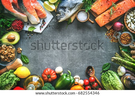 Royalty free shellfish plate of crustacean seafood for Aromatic herb for fish