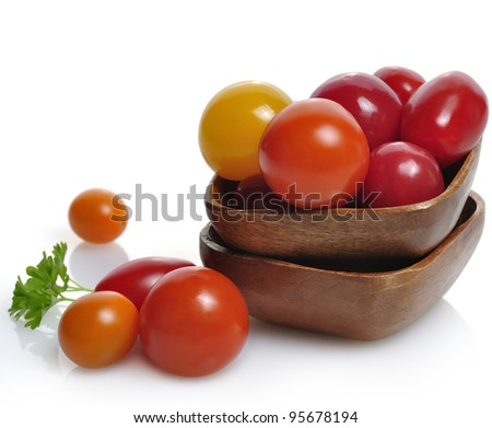 Assortment Of Fresh Small Tomatoes